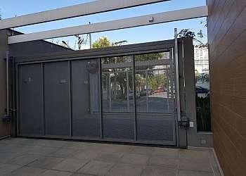 Portão automático alumínio garagem