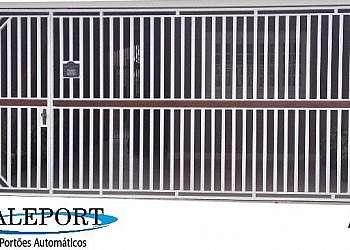 Portão de aço automático sp