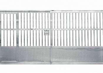 Portão de alumínio para corredor