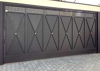 Portão de ferro preço m2